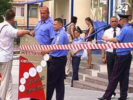 Місце вбивства у Севастополі