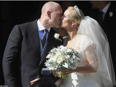 Зара Тиндалл с мужем