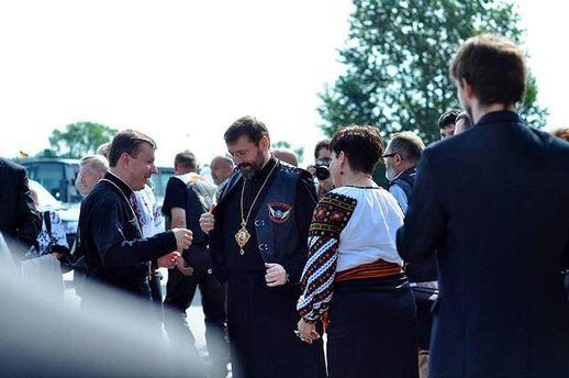 Святослав Шевчук у Польщі