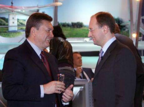 Янукович і Яценюк