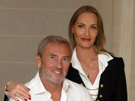 Леонід Черновецький з дружиною Оленою