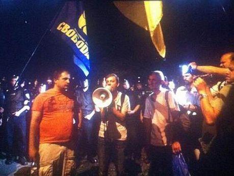 Активисты под РОВД