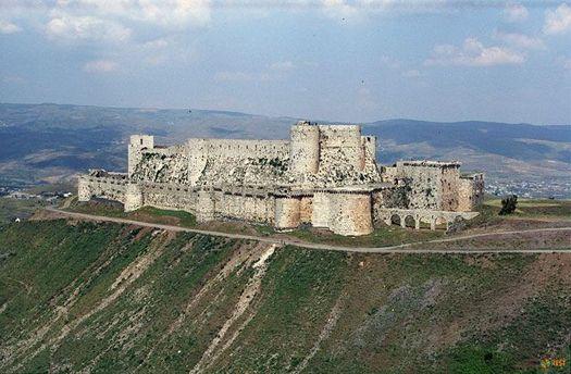 Замок Крак де Шевалье