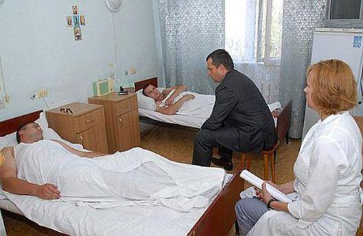Министр Захарченко в больнице