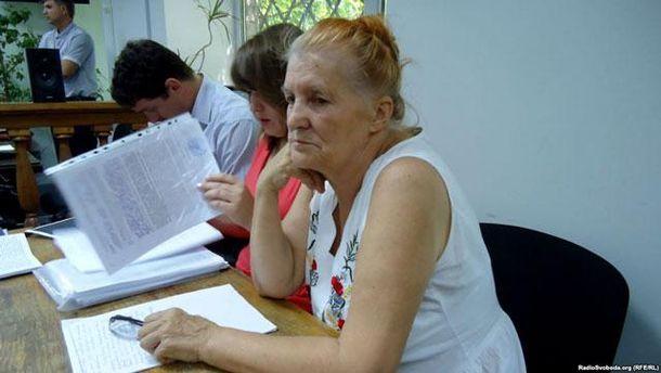 Раиса Радченко, мать Дарьи