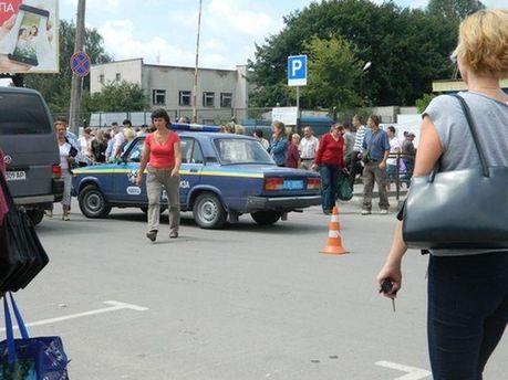 Авария в Тернополе