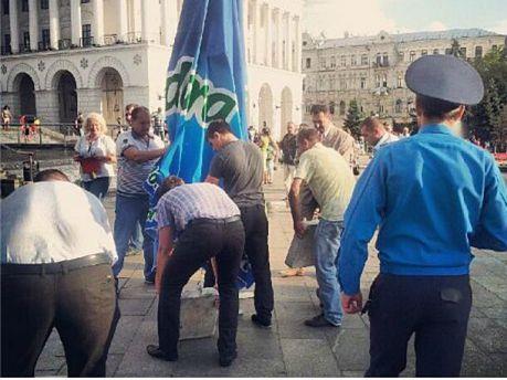 Правоохранители открыли общественную приемную на Майдане