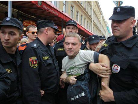 В Росії затримали 40 протестувальників