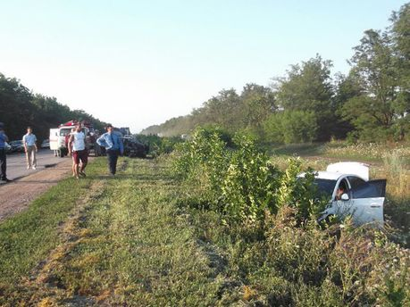 Аварія на Кіровоградщині