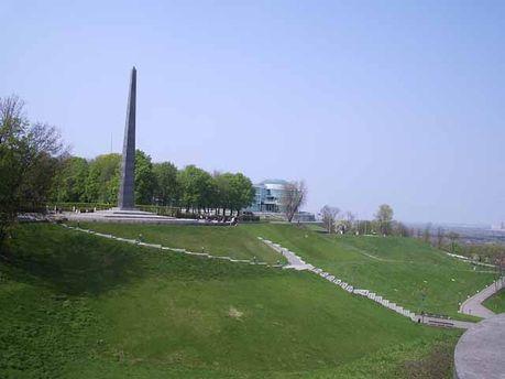 Парк Слави, де і горить вогонь