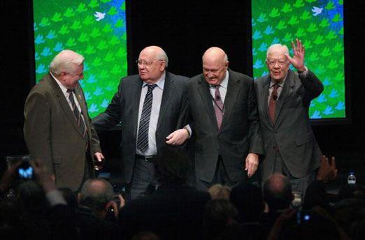 Попередній саміт лауреатів Нобелівської премії миру