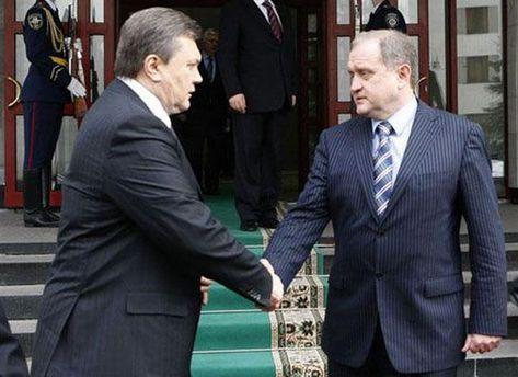 Віктор Янукович та Анатолій Могильов
