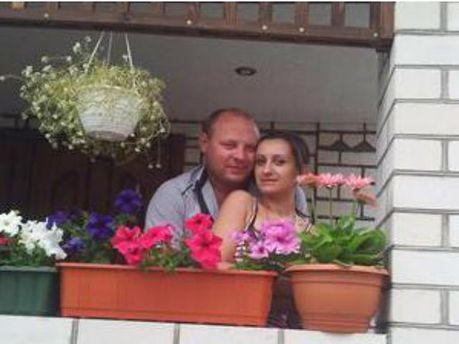 Євген Дрижак з дівчиною