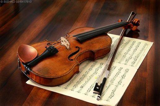 Одна зі скрипок Страдіварі