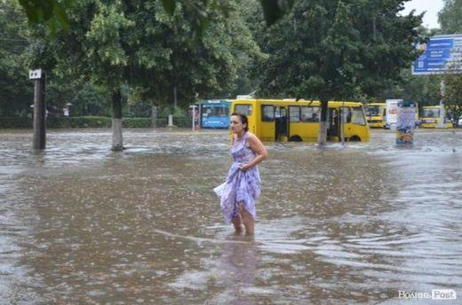 Затопленный Луцк