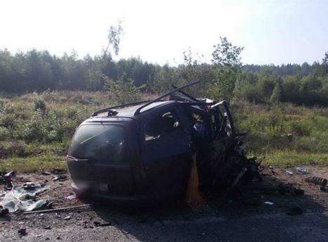 Авария с украинцами в Беларуси