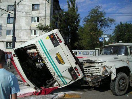 Аварія у Сєвєродонецьку