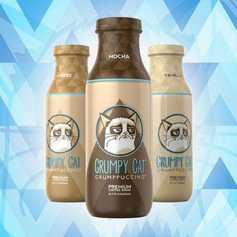 Бутылки с Grumppuccino