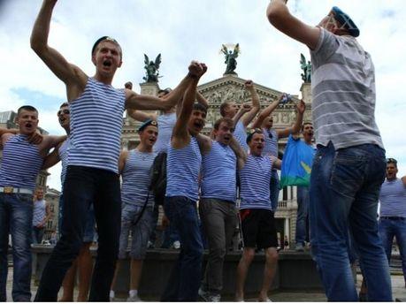 День ВДВ во Львове