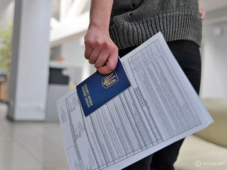 Анкета для подачи на визу