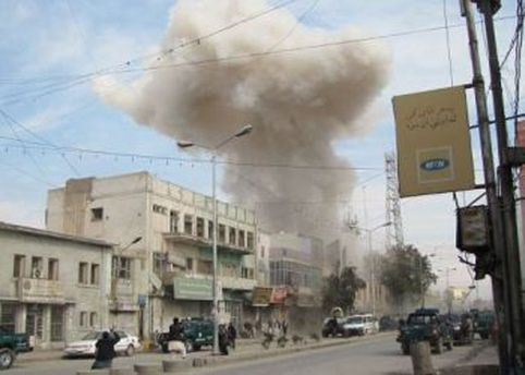 Взрыв возле консульства