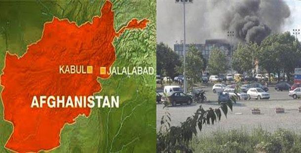 Взрыв в Джалалабаде