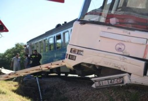 Авария в Хорватии