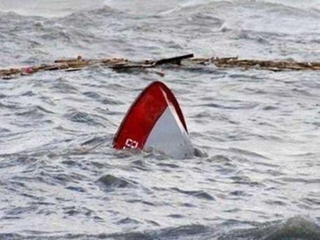 Утонувшая лодка