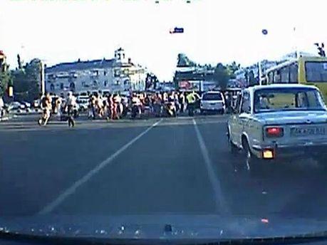 Авария в Симферополе