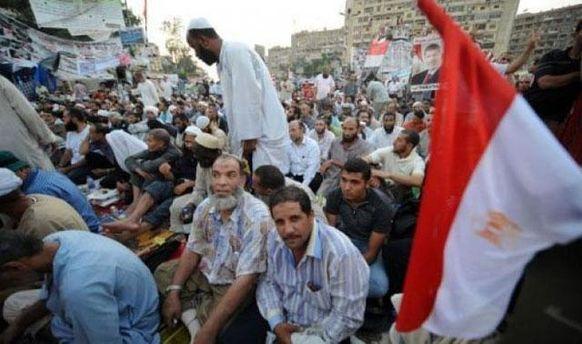 Протесты сторонников Мурси в Каире