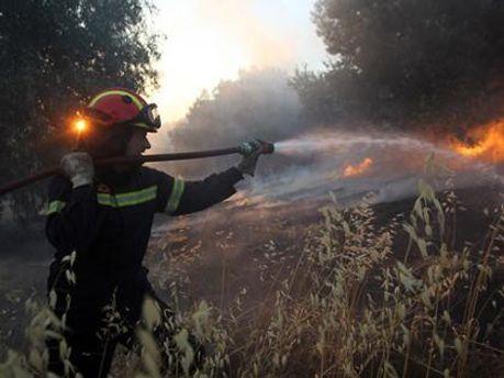 Грецію охопили пожежі