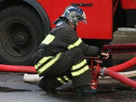 Пожарные быстро потушили огонь