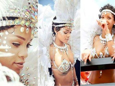 Рианна на карнавале