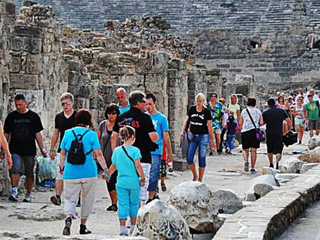 Туристи у Туреччині