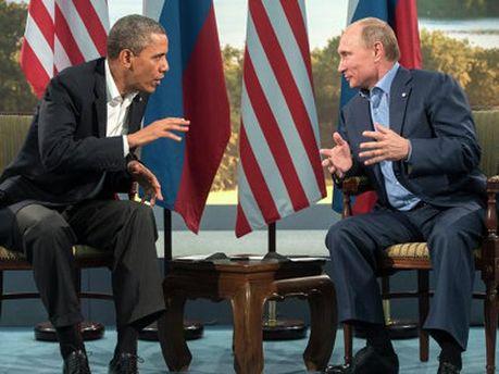 Обама і Путін