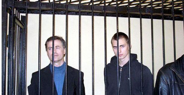 Отец и сын Павличенко
