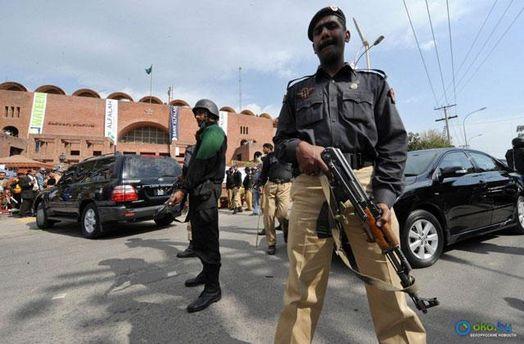 Пакистанский полицейский