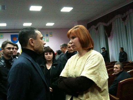 Віктор Романюк та Тетяна Засуха