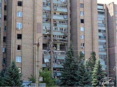 Вибух у Луганську