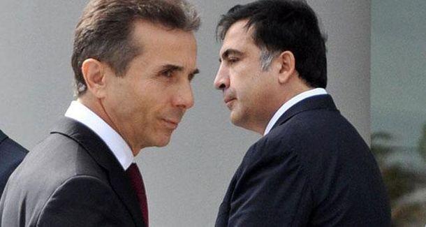 Бидзина Иванишвили и Михаил Саакашвили