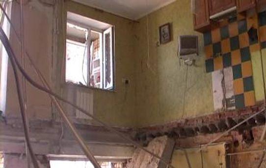 Квартира дома, где произошел взрыв