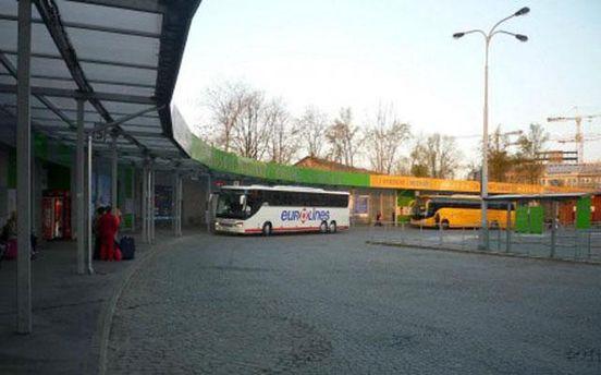 Автобус компании Euroline