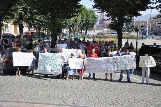 Протест підприємців у Чернівцях