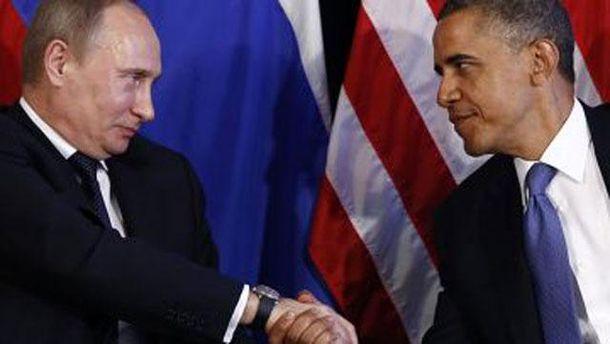 Володимир Путін та Барак Обама