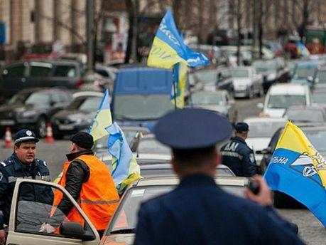 Мітинг таксистів