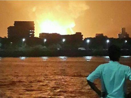 Взрыв на подводной лодке
