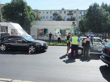 Авария в Полтаве