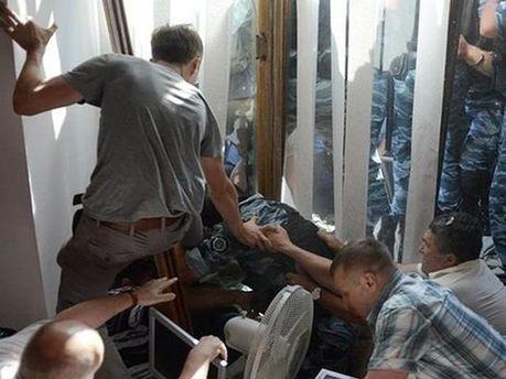 Сутички у Київраді