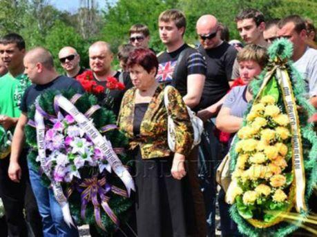 В Горловке похоронили погибших на