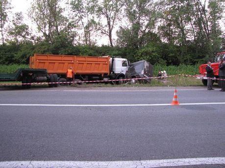 Авария на Хмельнитчине